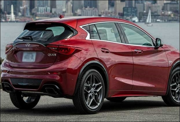 Infiniti QX30 Sports crossover luxury suv MSRP ranges from $30,945 -  $39,495.
