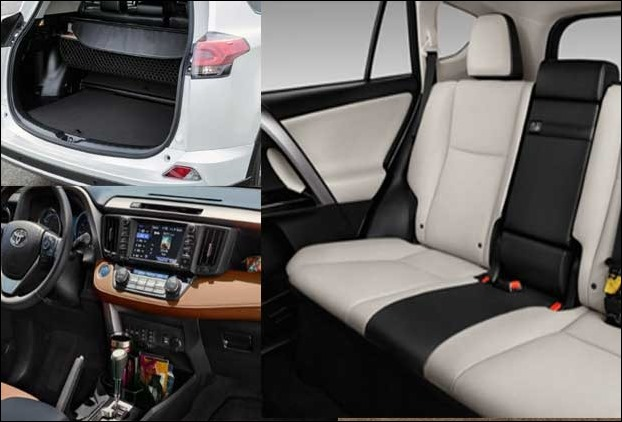 RAV 4 Cabin and Interiors