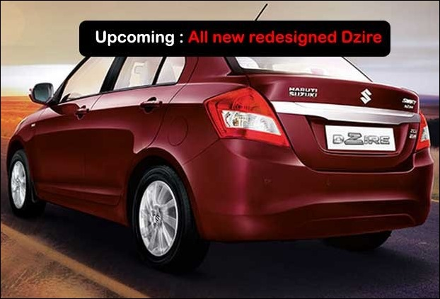 Maruti Swift Dzire will be launched in all new redesigned model in October 2017 in India