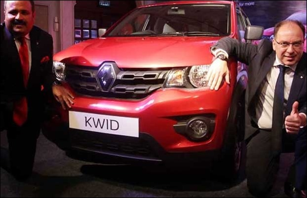 Variants of 1000 cc Renault KWID