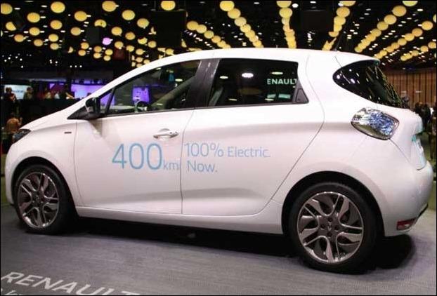 Renault Zoe EV electric car