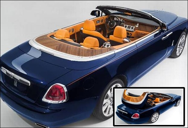 Convertible Car Rolls Royce Dawn launched with 6.6 liter engine