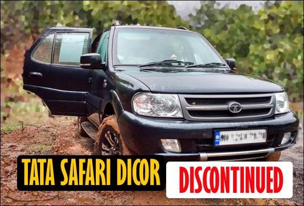 Tata Motors stops production of iconic SUV Safari Dicor in India
