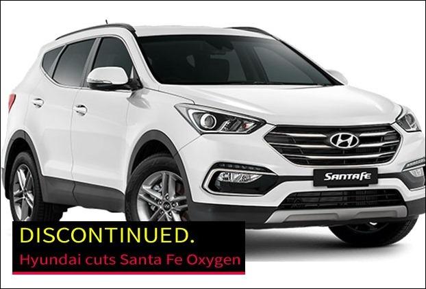 Hyundai discontinues Santa Fe in India