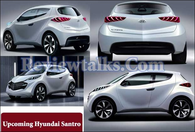 Hyundai Santro Low Cost Buget Segment Car May be unveiled by the end of 2018