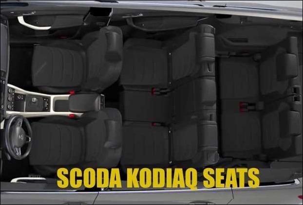 7 Seater 1968 cc Scoda Kodiaq