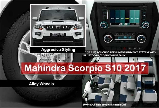Limited Edition Model of Mahindra Scorpio S10 2017 Launched in India