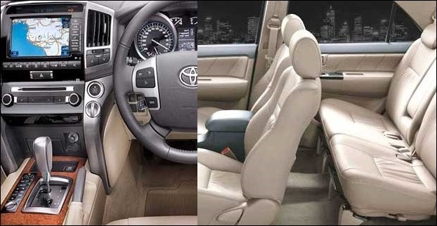 Toyota Fortuner has a seating capacity of 7 passengers