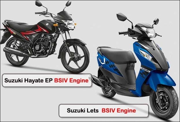 2017 S4 compliant Suzuki Hayate EP bike and Let's Scooter