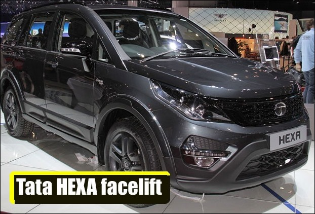 Tata Hexa Likely to get colour and cosmetic update