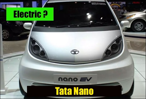 Tata Nano EV Electric Car