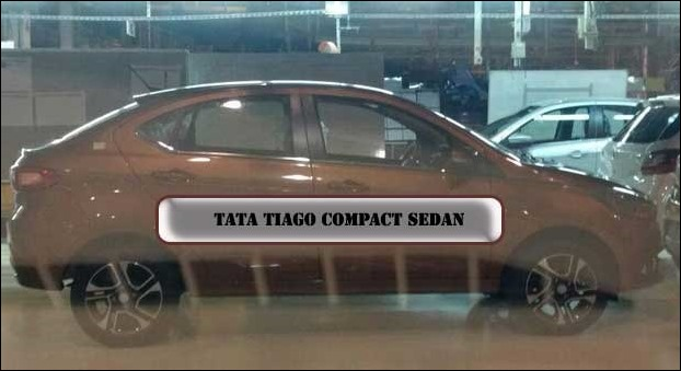 Tata Tiago Compact Sedan Version Testing in Pune