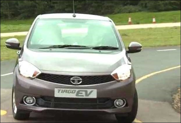 Tata Tiago EV model with 85Kw motor can accelerate 100 km in 11 secs