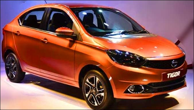 Tigor has 170mm ground clearence and 35 liters fuel tank capacity