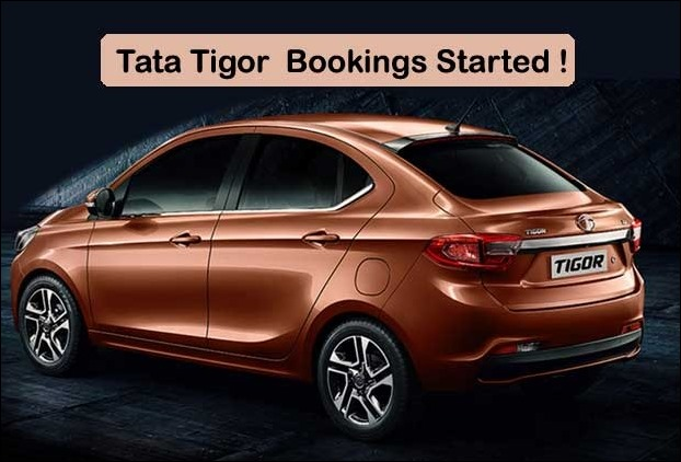 Tata Tigore Bookings Started with Rs 5000 Find Mileage and Price