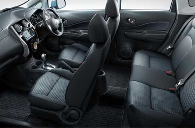 SUV has a roomy cabin with 5 passenger seating capacity