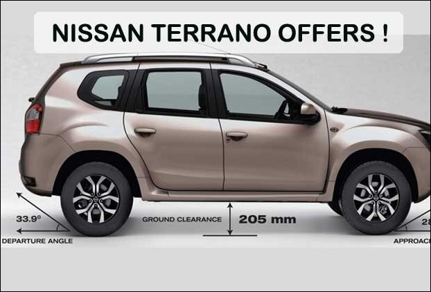 Nissan Terrano buyers are getting benefits upto 1 lakh and chance to win a trip to London !