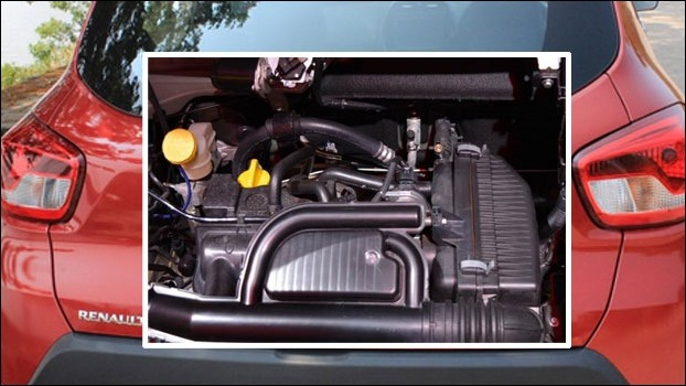 The 1000cc Engine of new Renault Kwid 2016