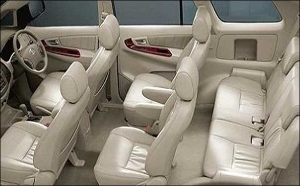 Toyota Innova brings a 7 or 8 seater seating option