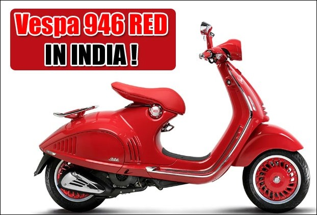 Aprilia SR 150 Rival Piaggio Vespa 946 Scooter RED  at Rs 87,000