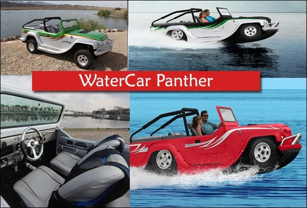 WaterCar Panther is the world's first SUV to run on water