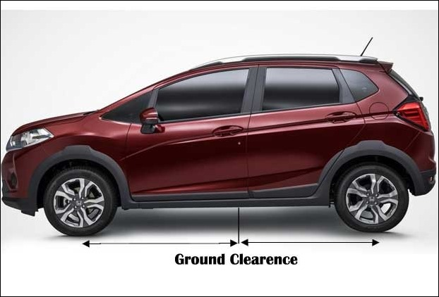 Ground Clearence of soon to be launched Honda WR-V will have 200mm ground clearence