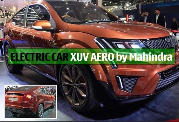 Mahindra Electric Car XUV Aero may have 200 - 300 kms distance range