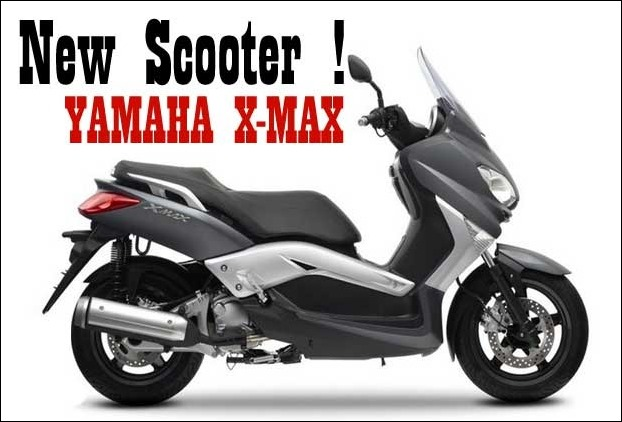 Yahama launches 125cc X-Max scooter with 15 inch alloy wheels